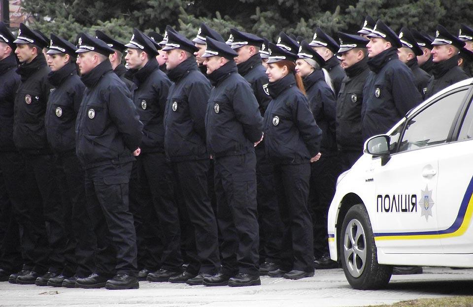 Патрульні поліцейські Полтави
