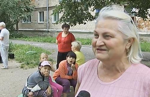 Валентина Носкова, мешканку будинку по вул. Кондратенка, 7