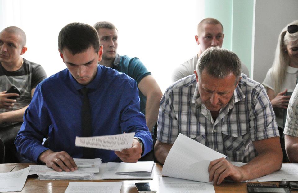 Дмитро Сенчакович та Юрій Бойко