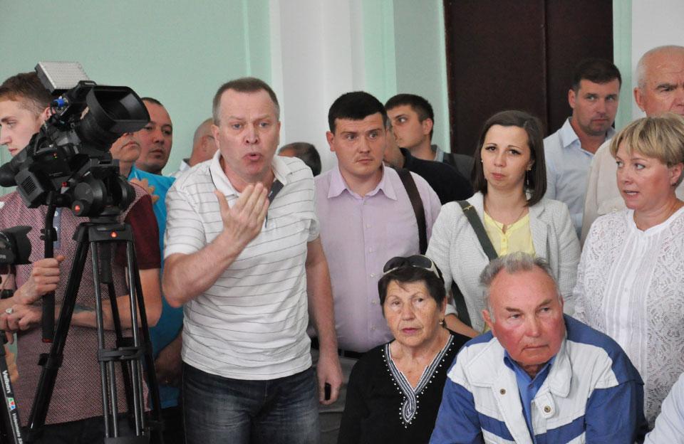 Представники ОСББ на депутатській комісії