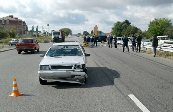Lancia Prisma після ДТП 22 вересня