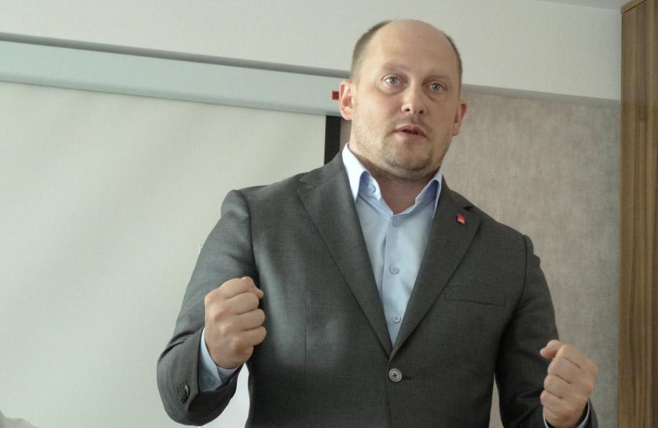 Лідер «Соціал-демократичної партії» Сергій Каплін