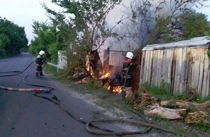 Пожежа на вул. Патріотичній