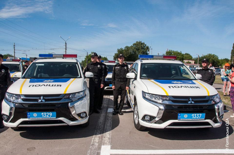Нові авто для поліції
