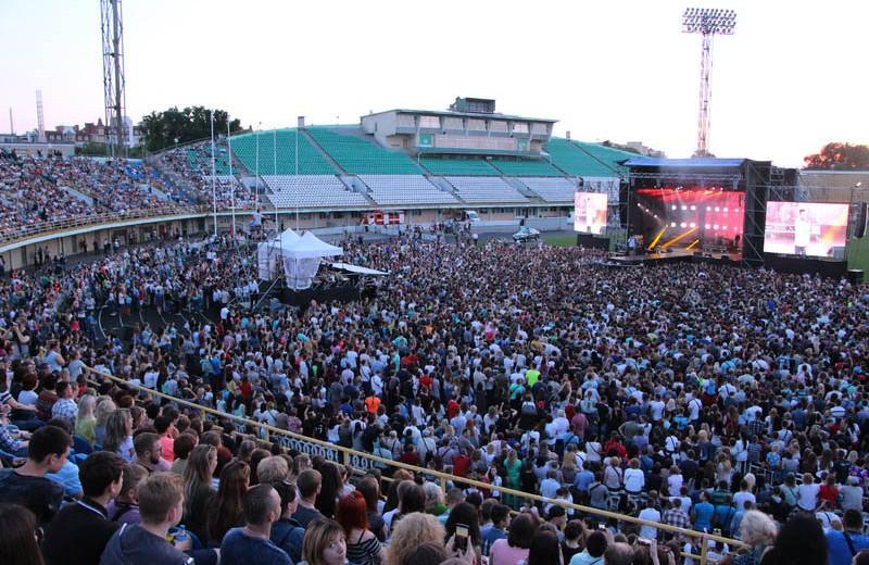 Близько 21 тисячі полтавців завітали на концерт до Дня молоді