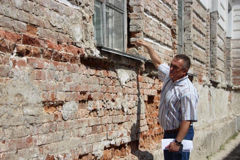 Начальник управління капітального будівництва Володимир Годня