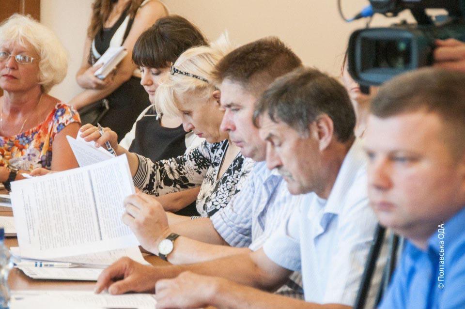 Засідання обласної Координаційної ради з моніторингу реалізації проету