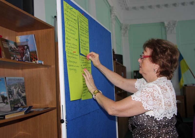 Керівник проекту «Розвиток персоналу» Тетяна Костишина