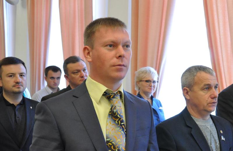 Дмитро Батигін, депутат Полтавської міської ради