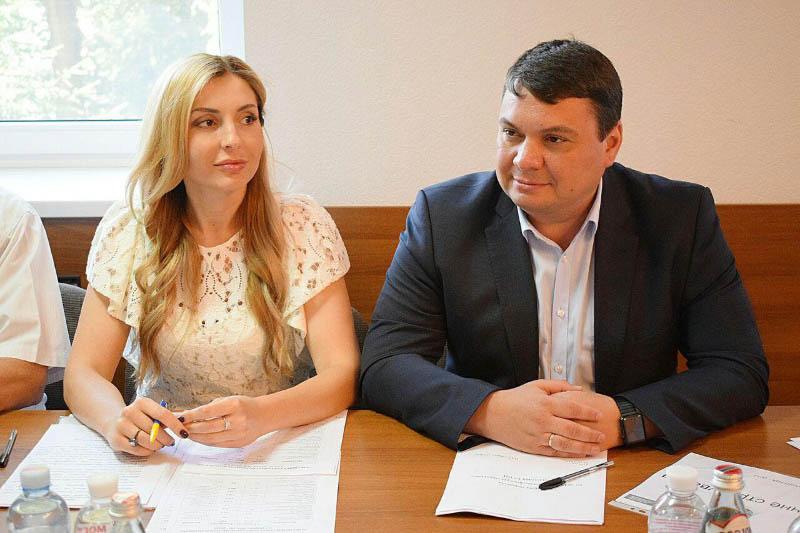 Інна Іщенко та Андрій Пісоцький