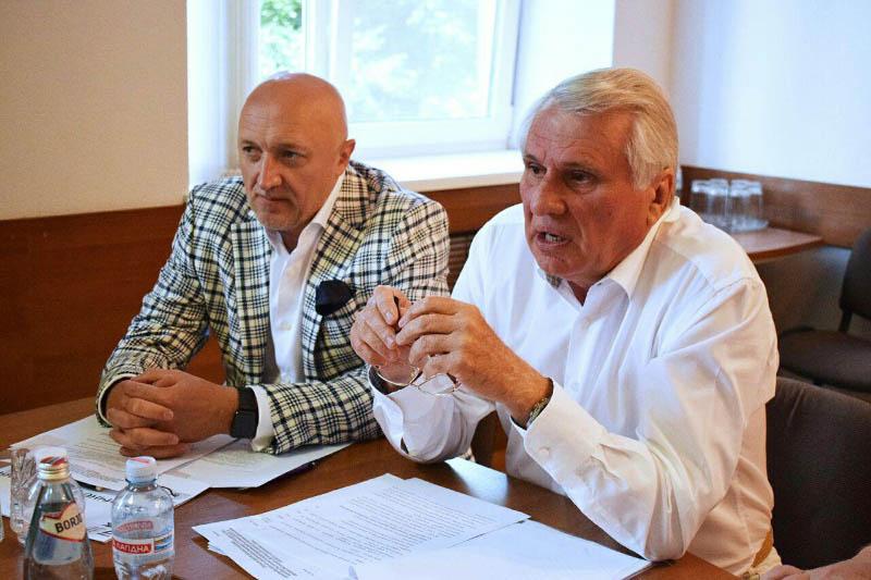 Голова Полтвської ОДА Валерій Головко та Сергій Змієвець