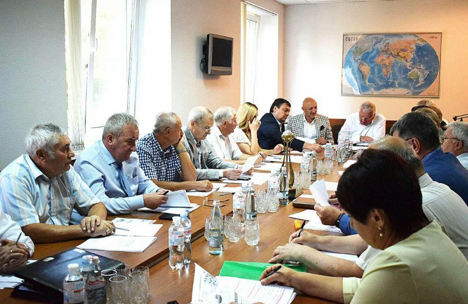Обговорення сторення стратегії рзвитку промисловості Полтавщини