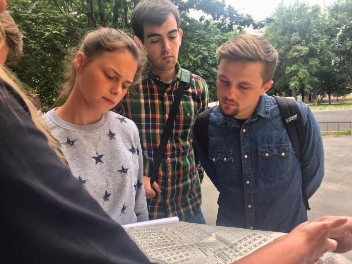 Студенти, які проходять практику в УКБ