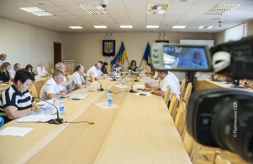 Засідання обласної ради з питань охорони здоров'я та соціального захисту населення