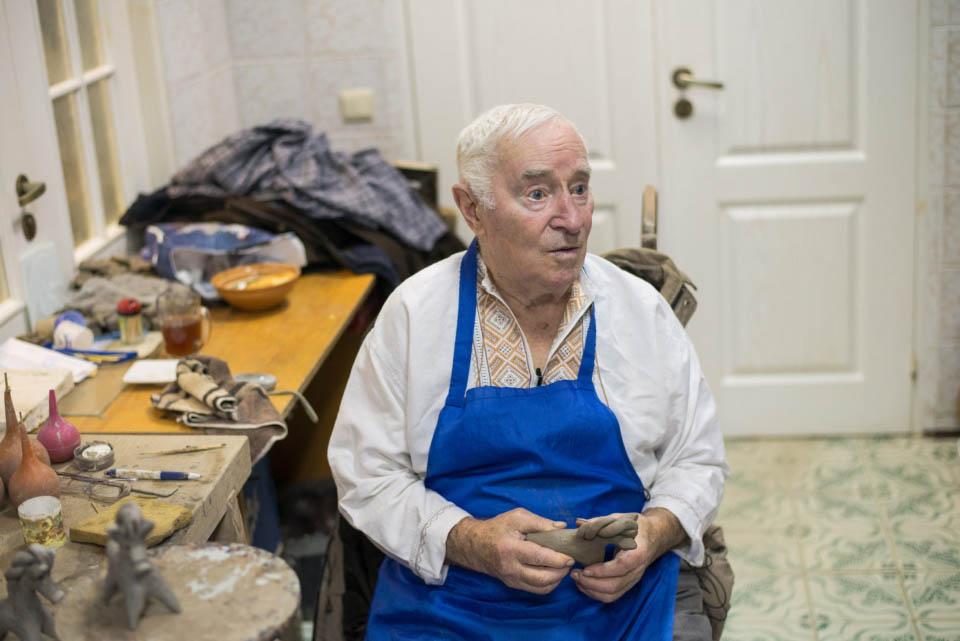 Гончар Микола Пошивайло, 86 років