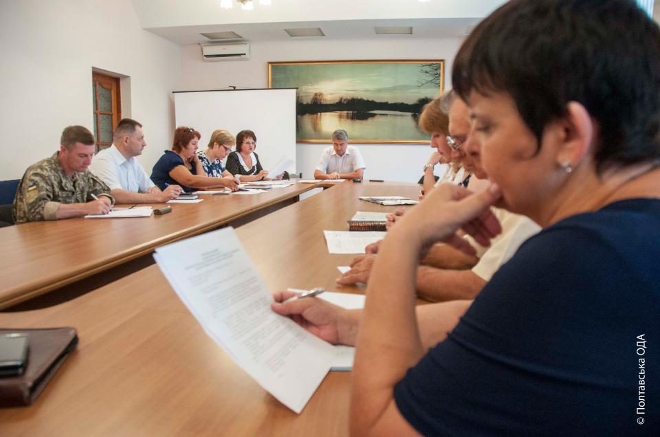 Представники робочих груп у районах доповідають про хід робіт