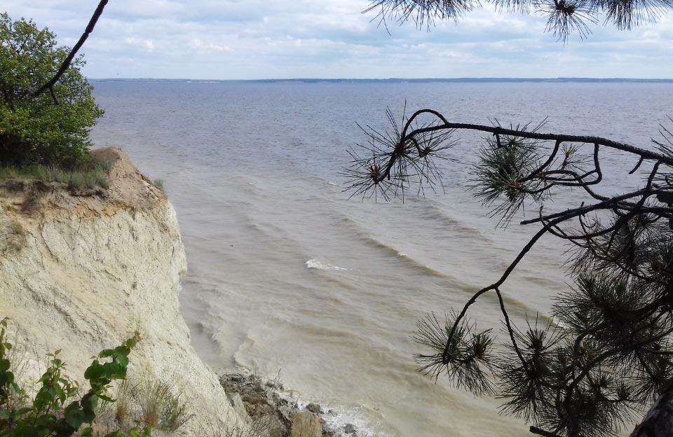 Панорама «Кременчуцького моря» з гори Пивихи