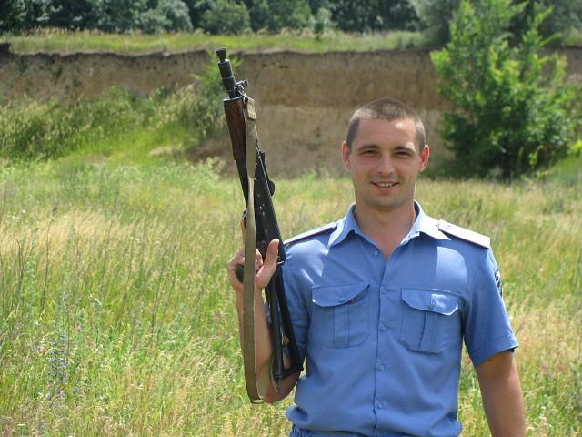 30-річний Володимир Муха з Нових Санжар