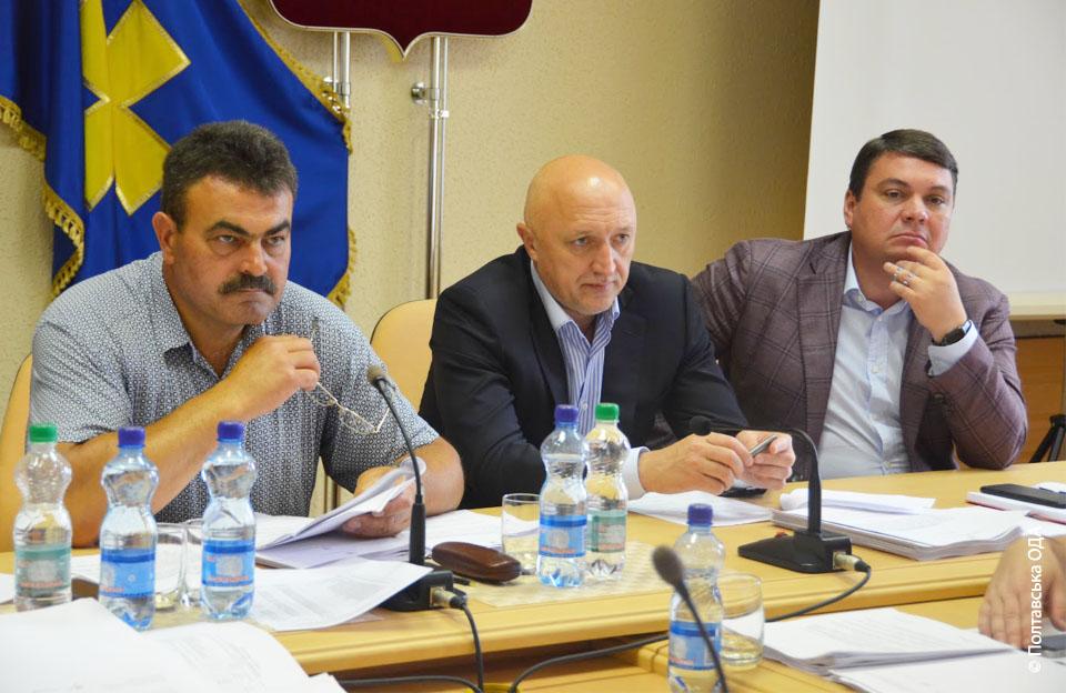 Микола Бондар, Валерій Головко, Андрій Пісоцький (зліва-направо)