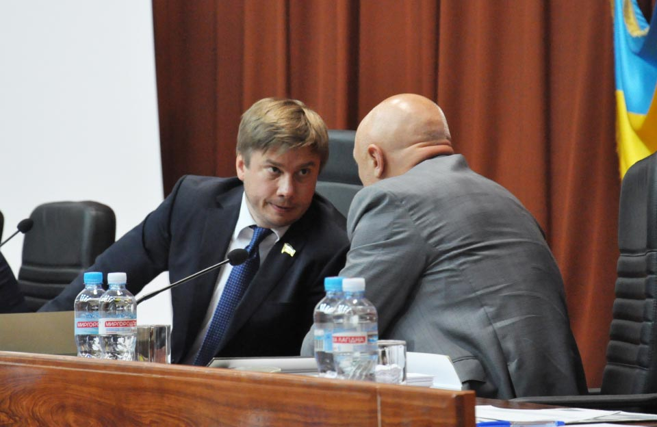 Олександр Біленький та Валерій Головко