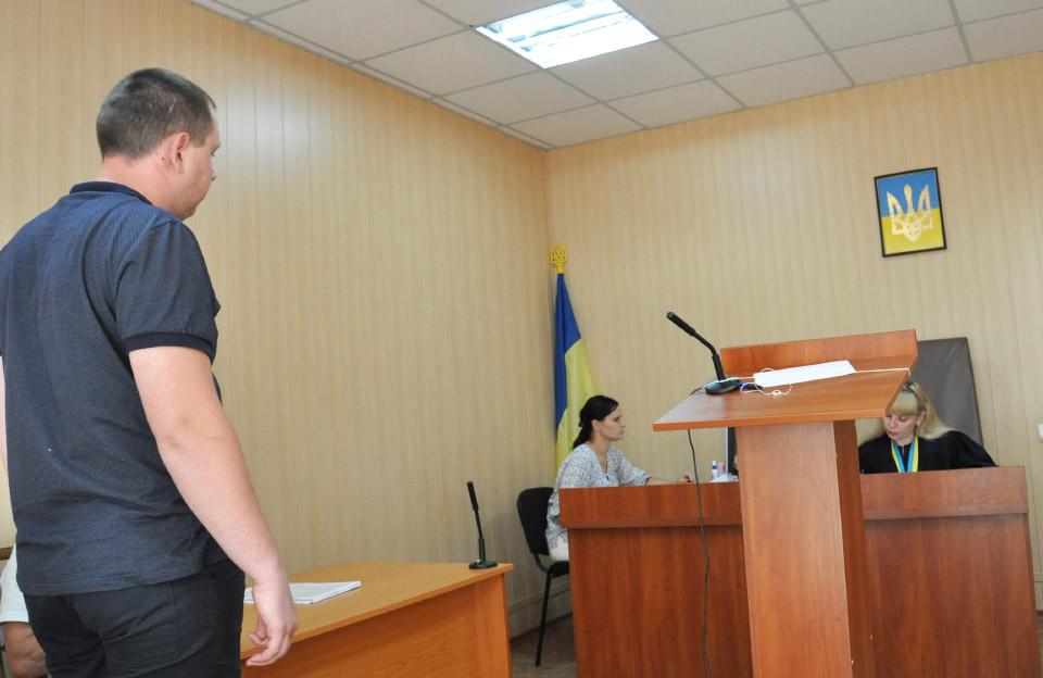 Засідання суду по справі Андрія Вовченка