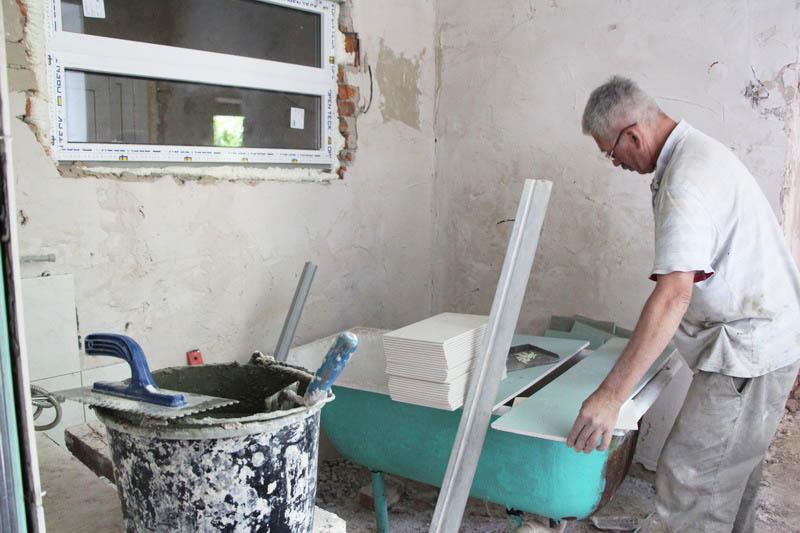 Під час ремонтних робіт у СНВК № 45