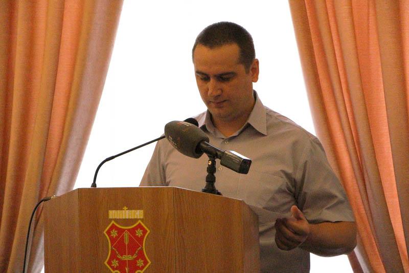 Начальник управління містобудування та архітектури, головний архітектор міста Микола Шевельов