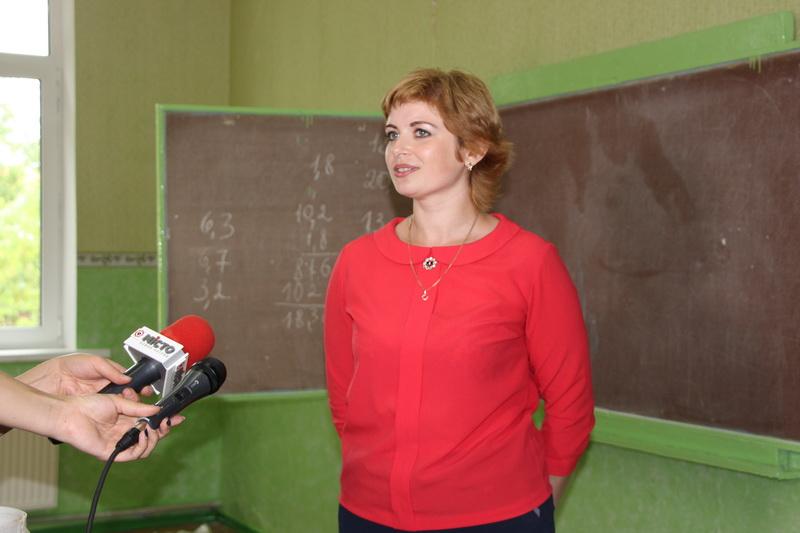 Учитель хімії та біології Ірина Грисик