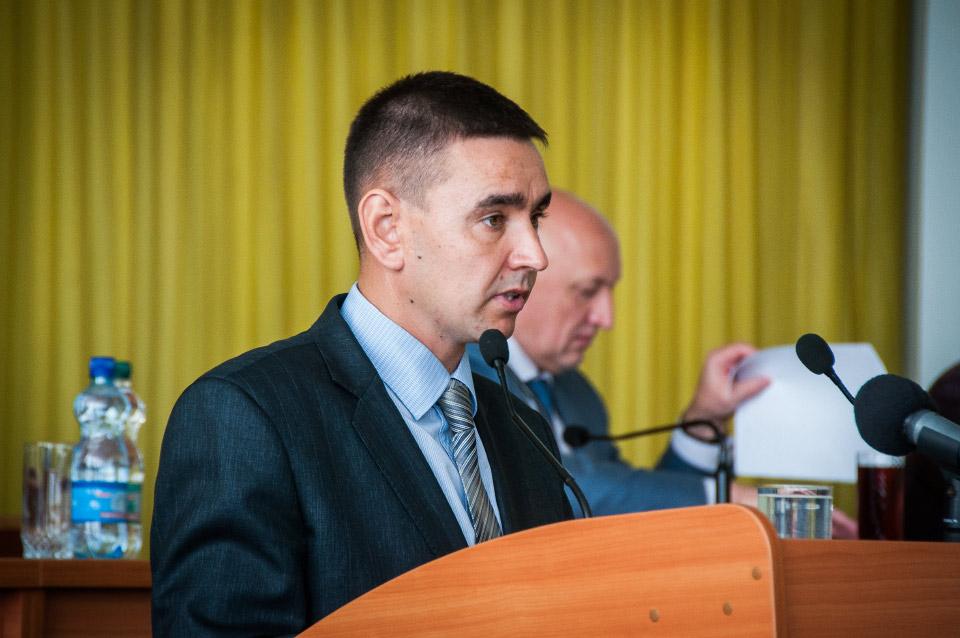 Перший заступник голови обласного управління лісового та мисливського господарства Олексій Тенянко
