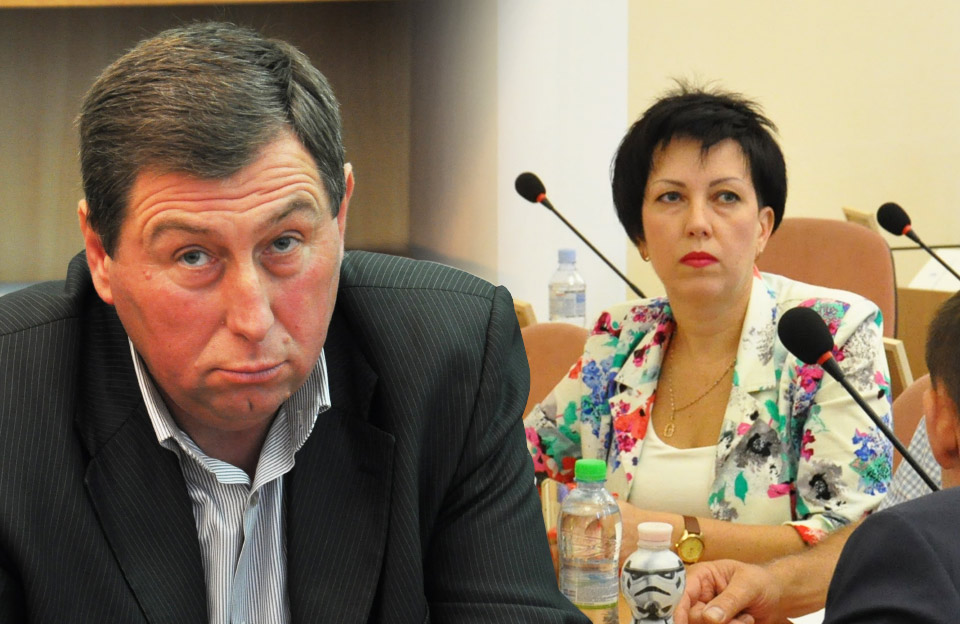 Депутати Полтавської міськради Сергій Луценко та Світлана Бондарєва