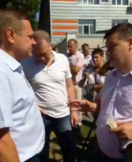 Сергій Мокрий та Ігор Головатий