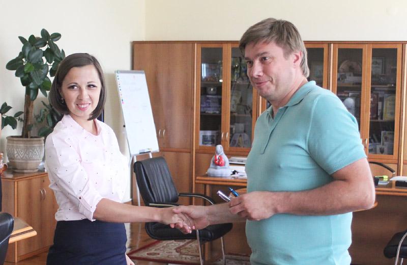 Юлія Городчаніна та Олександр Біленький