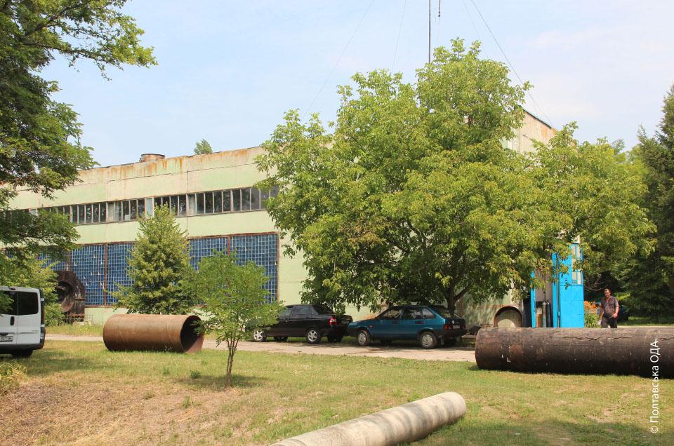 Насосна станція Градизької зрошувальної системи