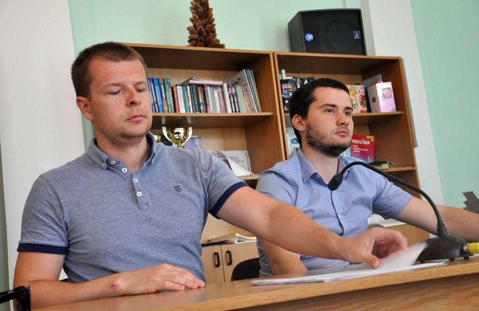 Артем Чубенко та Вадим Ямщиков