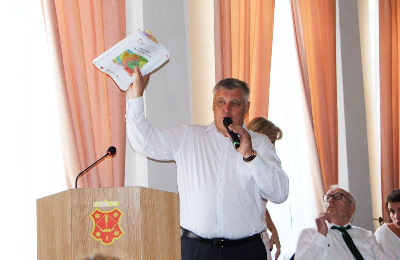 Директор КО «Інститут розвитку міста» Юрій Левченко