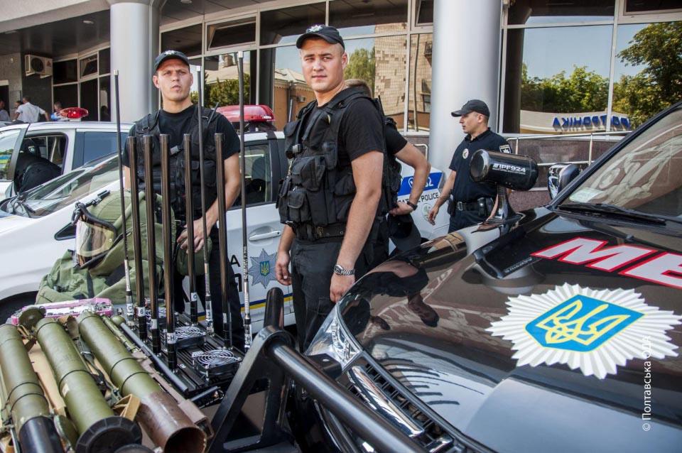 Тематична виставка до Дня Національної поліції
