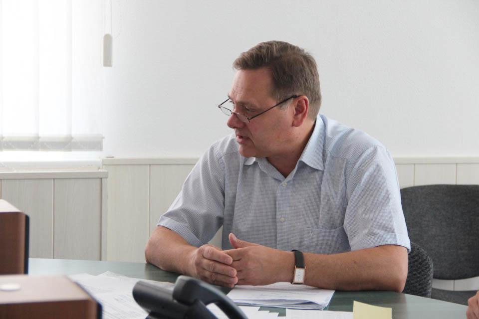 Перший заступник голови правління Полтавагаз Сергій Мокрий