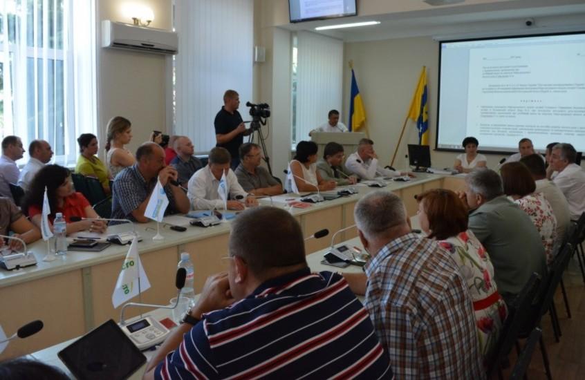 На сесії Миргородської міської ради