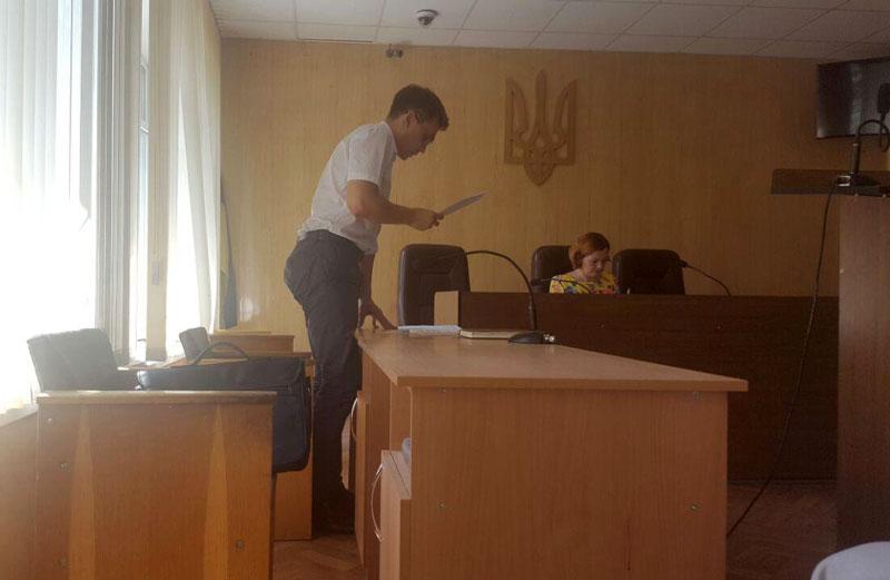 Прокурор Ігор Зінченко  та суддя Ірина Блажко