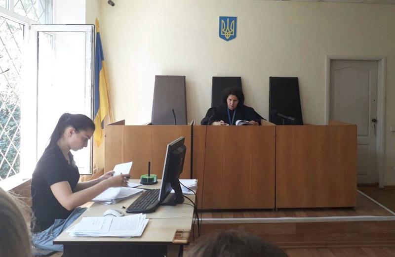 Слідча суддя Лариса Кулешова
