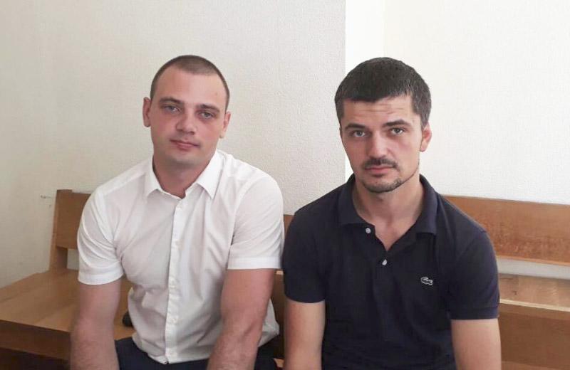 Микола Сватенко та Дмитро Юденко