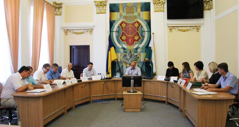 Під час засідання виконавчого комітету
