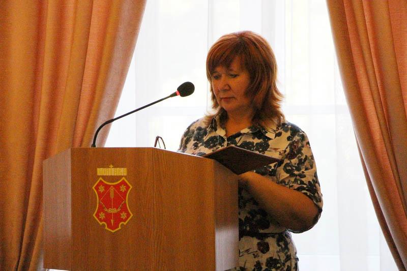 Начальник управління соціального розвитку Наталія Бондаренко