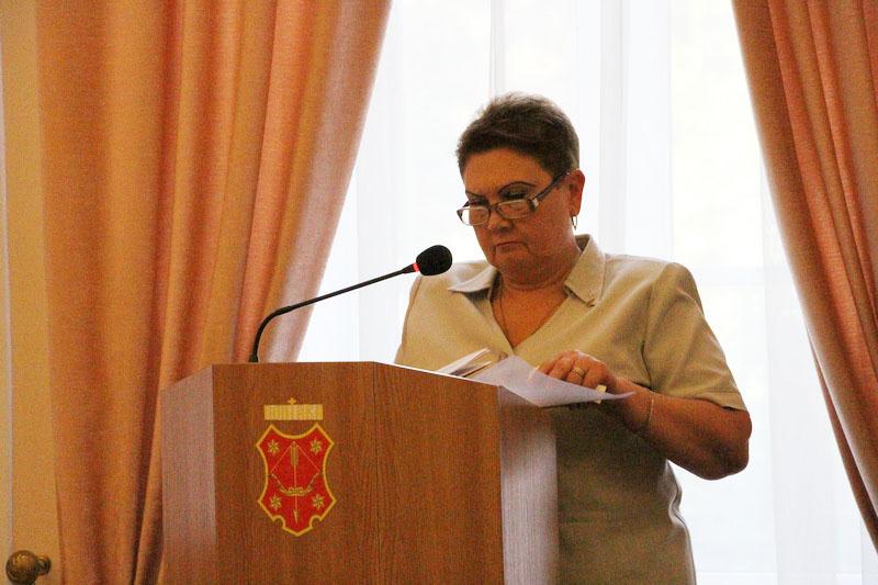 Перший заступник начальника управління освіти Ірина Надіна