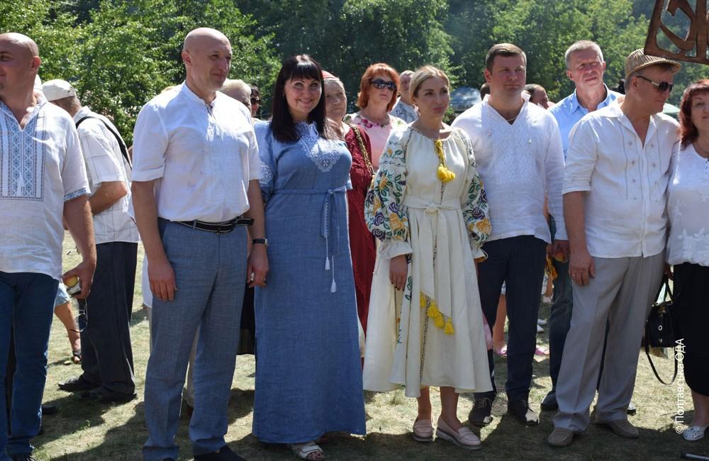 Керівництво області завітало на святкування другої річниці об'єднання Шишацької громади