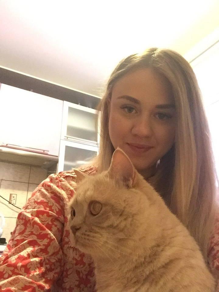 Автор ідеї флешмобу Вікторія Тимошенко з котом