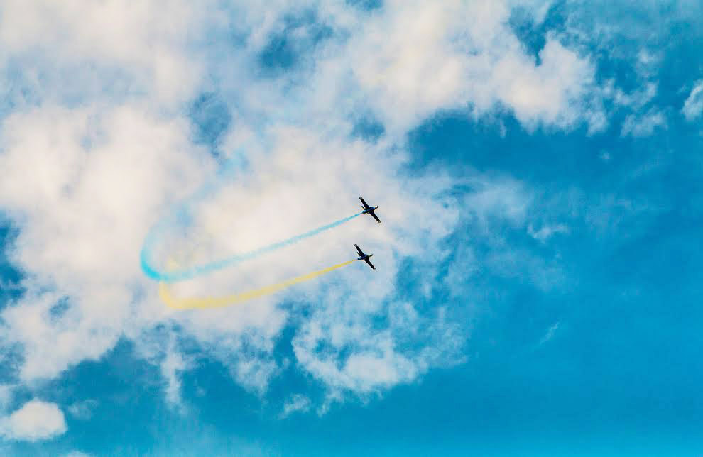 Моменти фестивалю «Вільне небо-2016»
