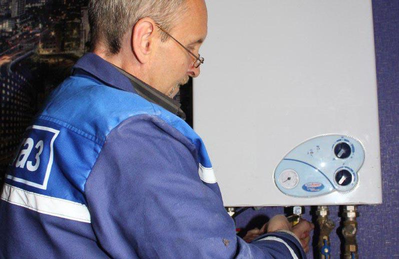 Техобслуговування газового обладнання