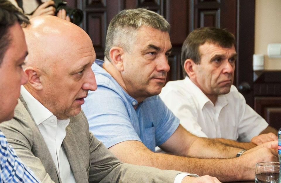 Валерій Головко, Юрій Кривошеєв та Микола Білокінь