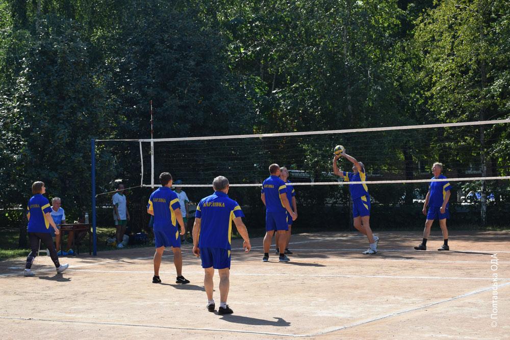 Учасники змагалися між собою у 5-ти видах спорту
